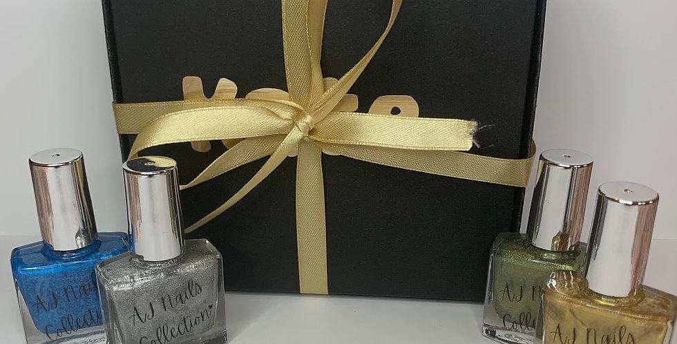 Happy Birthday - Linear Holo Glitter - Gift set