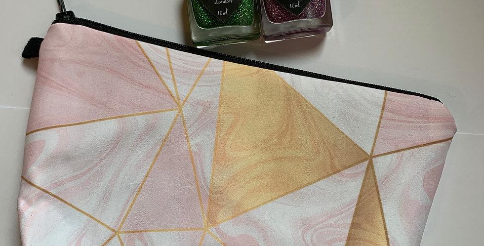 Aztec Print - Cosmetic Bag