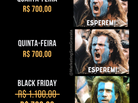 A verdadeira Black Friday brasileira
