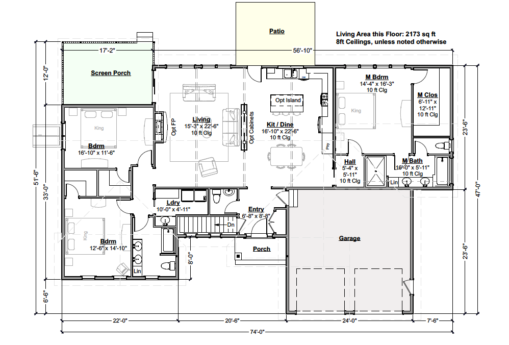 Tennyson Expanded Floor Plan