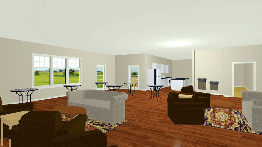 Clubhouse Virtual Staging