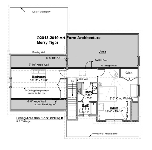 Merry Tiger Premier Gold Second Floor Plan