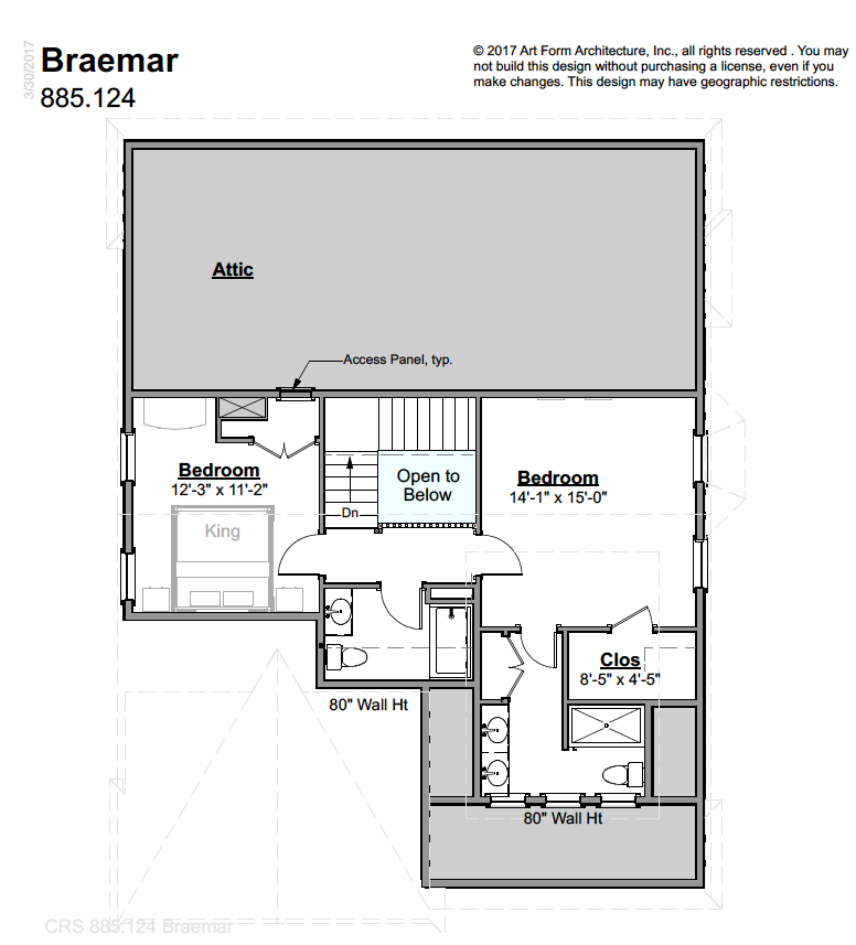 Braemar Second Floor