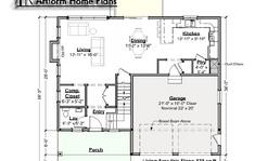 Sweet Peekaboo First Floor Plan