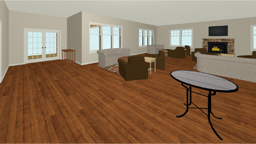 Club House Virtual Staging