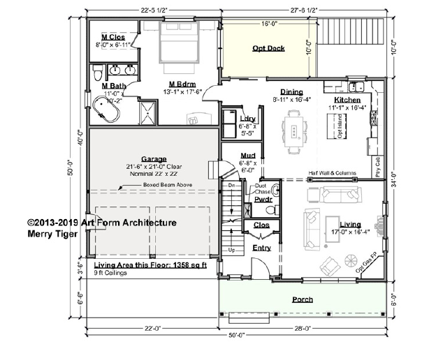 Merry Tiger Premier Gold First Floor Plan