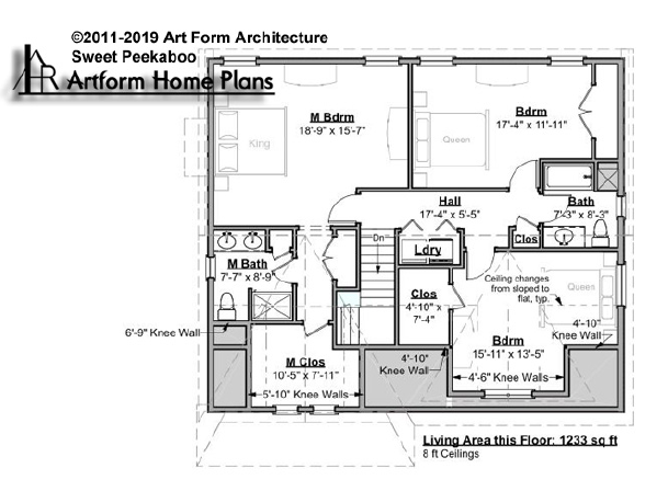 Sweet Peekaboo Second Floor Plan