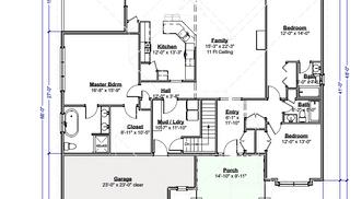 Merlot Cottage Floor Plan