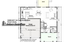 Sweet Liberty First Floor Plan