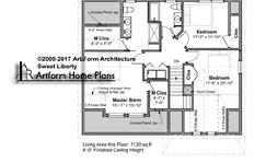 Sweet Liberty Second Floor Plan