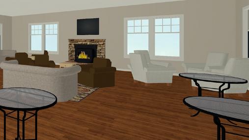 Club House Virtual Staging