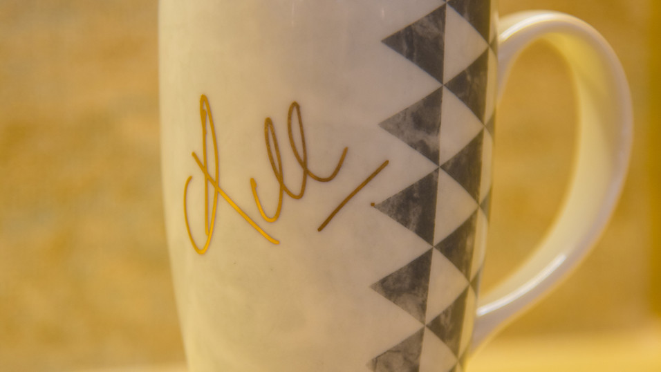 Aztec Collection Mug signed by Indian Cricketer KL Rahul