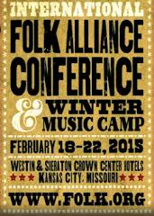 Major Tom, Did You Hear That I'm an Official Showcase Artist at the Folk Alliance International conf
