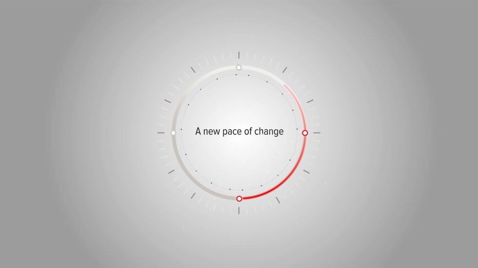 A NEW PACE OF CHANGE