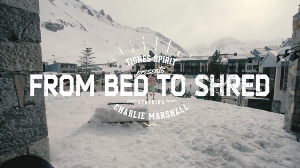 FROM BED TO SHRED