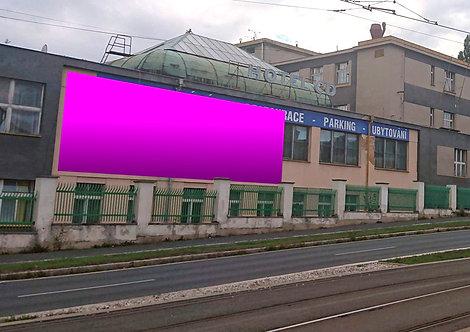 Plzeň - Karlovarská 81 - levá plocha CD HOTEL