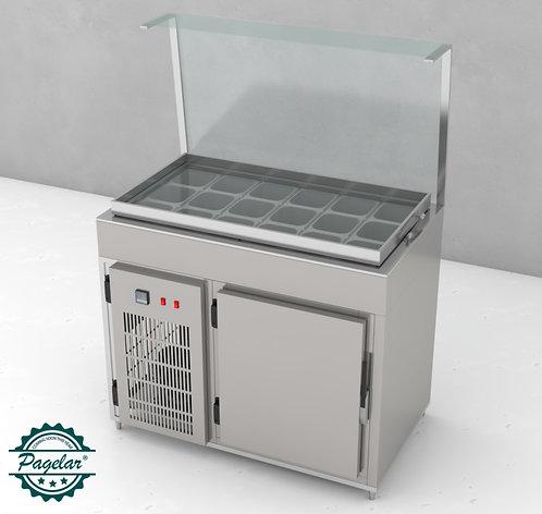Balcão de Condimentos Refrigerado PAGELAR