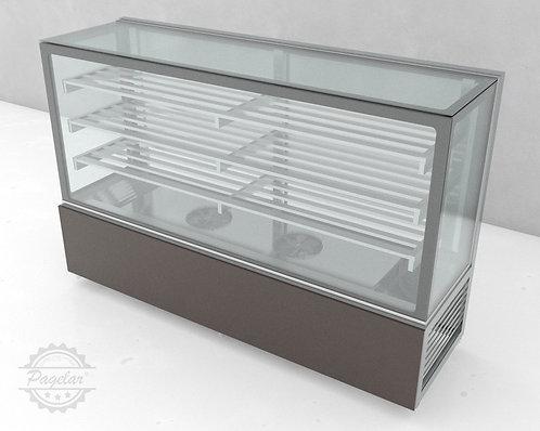 Balcão Refrigerado  Ar Forçado Vidro Reto PAGELAR 2000MM