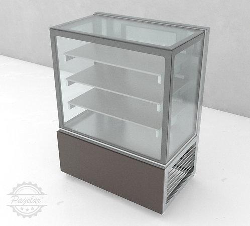 Balcão Refrigerado  Placa Fria Vidro Reto PAGELAR 1000MM