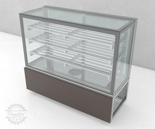 Balcão Refrigerado Ar Forçado Vidro Reto PAGELAR 1500MM