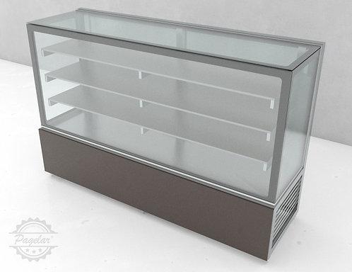 Balcão Refrigerado  Placa Fria Vidro Reto PAGELAR 2000MM
