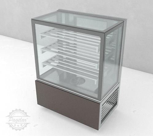 Balcão Refrigerado Ar Forçado Vidro Reto PAGELAR 1000MM