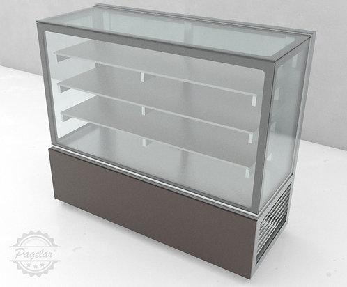 Balcão Refrigerado  Placa Fria Vidro Reto PAGELAR 1500MM