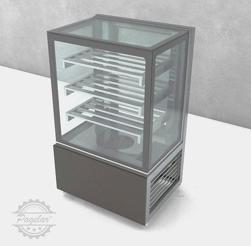 Balcão Refrigerado  Ar Forçado Vidro Reto PAGELAR 800MM