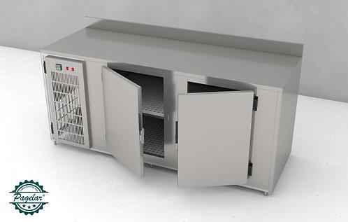 Balcão de Serviço Refrigerado 2 Porta PAGELAR - Linha Chile