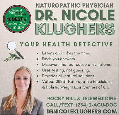 Health Detective Square Dr Nicole Klughe