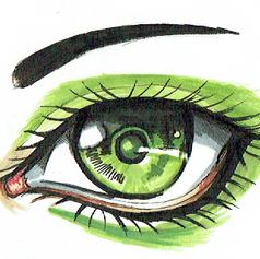 Schizzo occhio base