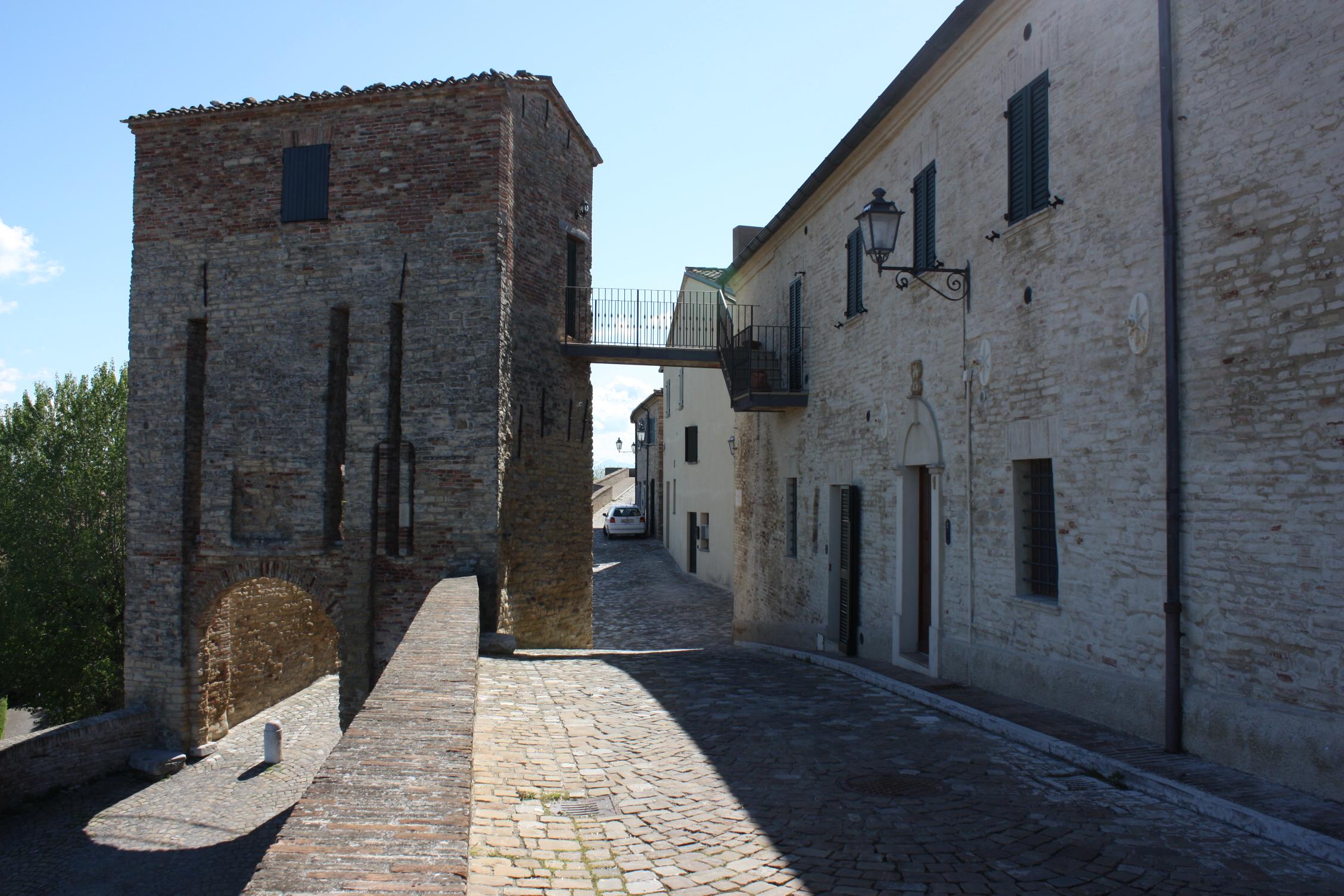 Il borgo di Novilara