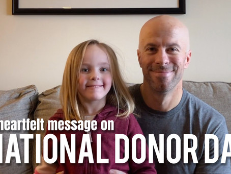 A Heartfelt Message on National Donor Day