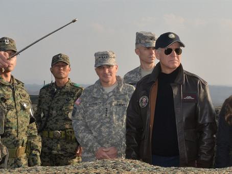 Joe Biden homme de paix? man van de vrede?