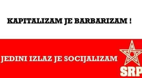 Solidarity message to the Socijalistička radnička partija Hrvatske SRP