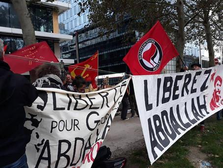 Libérez Georges Abdallah maintenant ! Georges Abdallah moet worden vrijgelaten ! NU !