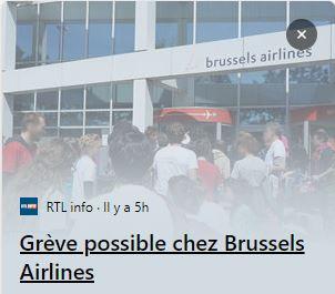 Grève chez Brussels Airlines - analyse des luttes dans les filiales de Lufthansa