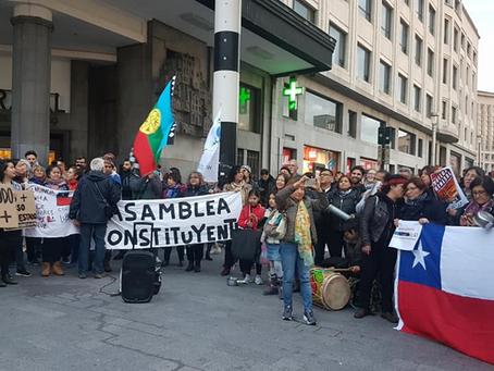 Solidarité avec le peuple Chilien/ Solidariteit met het Chileense volk