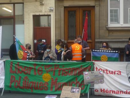 Solidarité avec le peuple Chilien