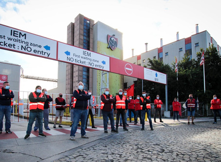 Solidarité avec les grévistes de ABInbev-  Solidariteit met de stakers van ABInbev