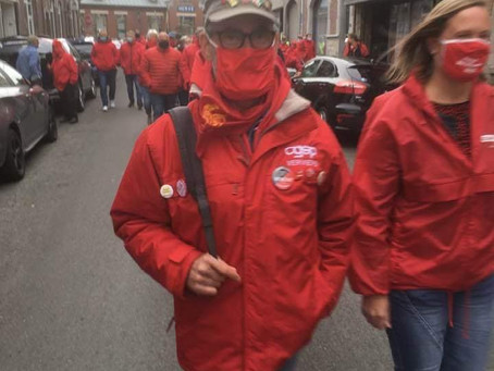 Rassemblements syndicaux en front commun pour de meilleures allocations