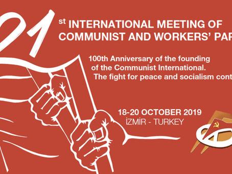 21 IMCWP, La lutte contre le fascisme est la tâche commune d'aujourd'hui !
