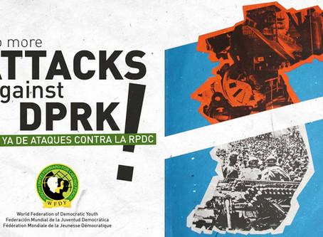 Stop aux attaques contre la RPDK