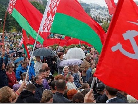Belarus : le coup d'état OTAN-UE a échoué / Staatsgreep van NAVO-EU is mislukt