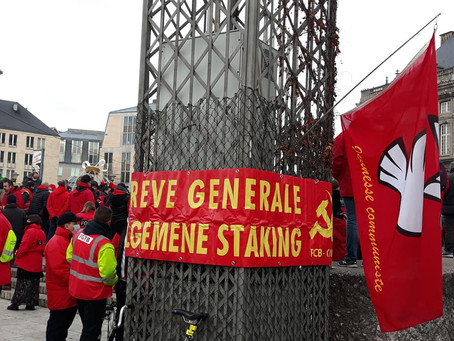 Photos de l'action du 10 décembre pour la défense du droit de grève