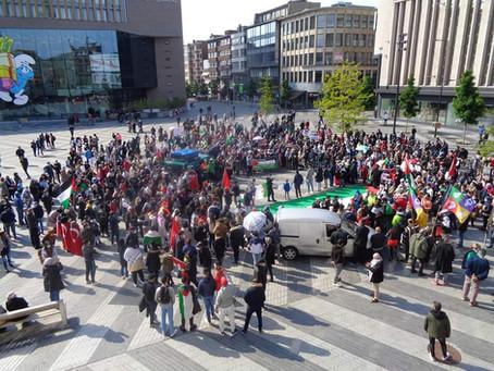 Charleroi soutient la Palestine