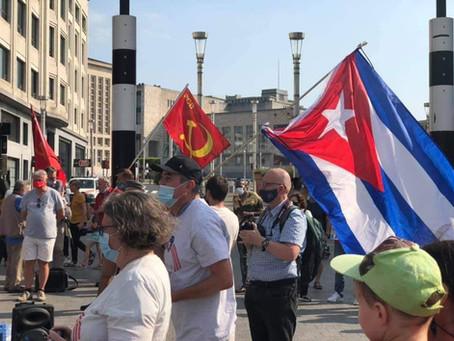 Soutien à Cuba, à son Peuple et à sa Révolution /ondersteuning van Cuba, zijn revolutie FR/NL