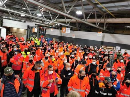 Soutenons la lutte des travailleurs de TNT