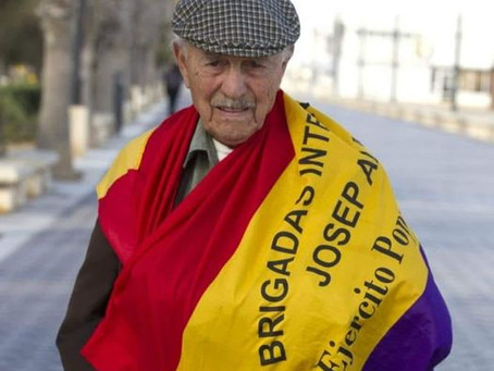 Gloire et Honneur au camarade Josep Eduard Amuldéver Mateu, dernier brigadiste