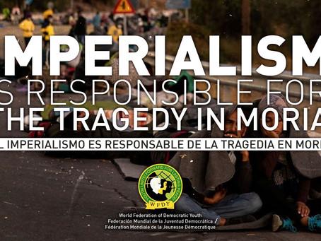 La tragédie à Moria est la faute de l'impérialisme